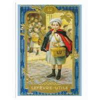 Carte Biscuit Lefevre-Utile LU - Centenaire Editions