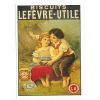 Carte Biscuits Lefèvre-Utile LU Nantes - Centenaire Editions