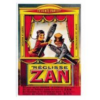 Carte Reglisse Zan - Editions Clouet