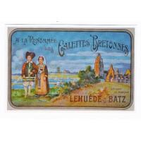 Carte Les galettes bretonnes - Centenaire Editions
