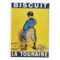 Carte Biscuit la Tourraine - Centenaire Editions