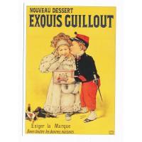 Carte Nouveau Dessert exquis guillout - L'avion Postal