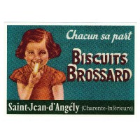 Carte Biscuits Brossard Charente-Inférieure - Centenaire Editions