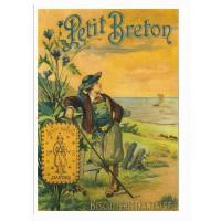 Carte Petit Breton Biscuiterie Nantaise - Centenaire Editions