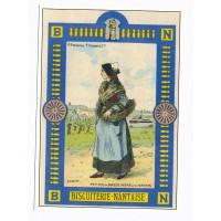 Carte Biscuiterie Nantaise - Centenaire Editions