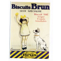 Carte Biscuits Brun Grenoble - Editions Clouet