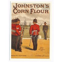 Johnston's Corn Flour Guard - The robert opie Collection