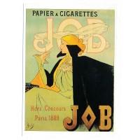 Carte Papier à cigarettes JOB - L'avion Postal