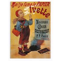 Carte Moi ! jefume le Papier Ivette - Edition F.Nugeron