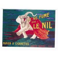 Carte papier à cigarettes le nil - Editions Clouet