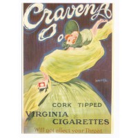 Carte Cravena Virginia Cigarettes - Editions F.Nugeron
