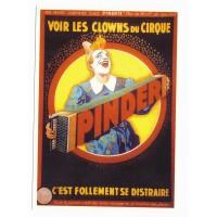Carte cirque Pinder Les clowns du cirque - Centenaire Editions