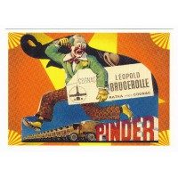 Carte cirque Pinder à cognac - Centenaire Editions