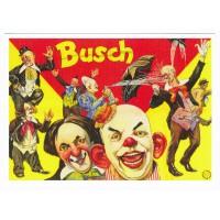 Carte cirque Busch - Centenaire Editions