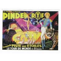 Carte cirque Pinder RTF nouvelle piste aux étoiles - Centenaire Editions