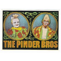 Carte cirque Pinder The Pinder Bros - Centenaire Editions