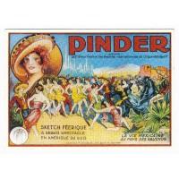 Carte cirque Pinder Spectacle en Amérique Sud - Centenaire Editions