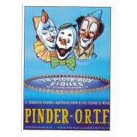 Carte cirque Pinder - ORTF la piste aux étoiles - Centenaire Editions