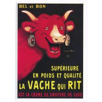 Carte La vache qui rit crème gruyère de luxe - Editions clouet