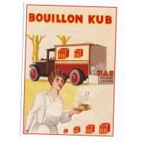 Carte publicitaire Bouillon Kub - Centenaire Editions