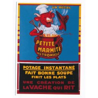 Carte La vache qui rit potage instantané - Editions Clouet