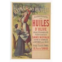 Carte Reine des huiles olive - Editions Clouet