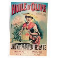 Carte Huile d'olive Union des propriétaires de Nice - Editions Clouet