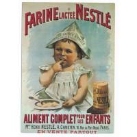 Carte Farine Lactée Nestlé - Editions F.Nugeron