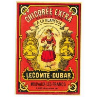 Carte Chicorée Extra Lecompte Dubar - Floriscope