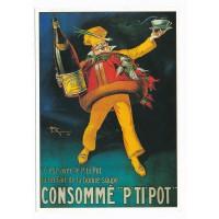 Carte Consommé pti pot - Claude aubert éditeur