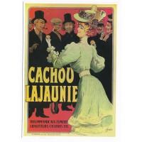 Carte Cachou Lajaunie - Editions Clouet