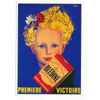 Carte Blédine Premiere victoire - Claude aubert éditeur