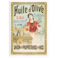 Carte Huile Olive Proprio Nice 1 - Editions Clouet