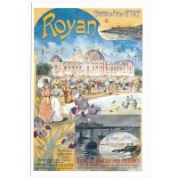Carte Royan Affiche de tourisme - Centenaire Editions