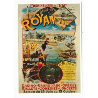 Carte Royan tourisme - Centenaire Editions