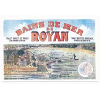 Carte Royan paysage vue de la mer - Editions bonne anse
