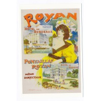 Carte Royan Hotel de Bordeaux Pintaillac - Editions bonne anse
