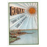Carte Royan dans le soleil dans la verdure - Centenaire Editions