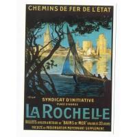 Carte La Rochelle Place d'armes - Centenaire Editions