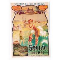 Carte Soulac sur mer - Editions Clouet