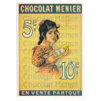 Carte chocolat Menier - Editions Clouet