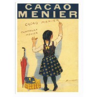 Carte chocolat Menier Cacao Menier - Centenaire Editions