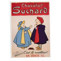 Carte chocolat Suchard c'est le meilleur - Editions Clouet