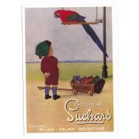 Carte Postale 10x15 chocolat Suchard milka velma noisettine - Centenaire Editions