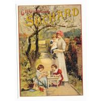 Carte chocolat Suchard le gouter - Centenaire Editions