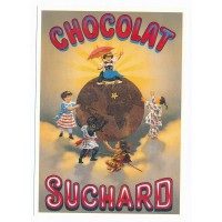 Carte chocolat Suchard Amis du chocolat - Centenaire Editions