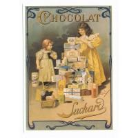 Carte chocolat Suchard Boite métallique d'époque - Centenaire Editions