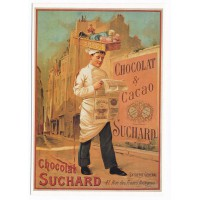 Carte chocolat Suchard Chocolat et Cacao - Editions Clouet