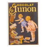 Carte chocolat Junon - Centenaire Editions