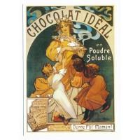 Carte chocolat Idéal en poudre soluble - Centenaire Editions